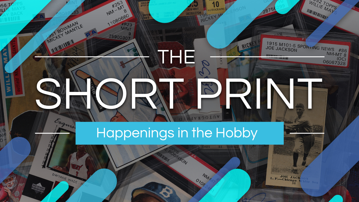 The Short Print – July 18 2021
